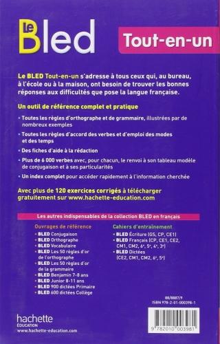 Bled Tout En Un Hachette In French